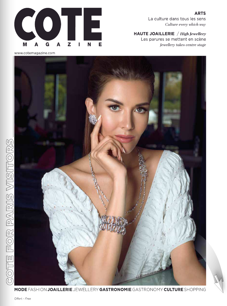 Cote magazine French riviera