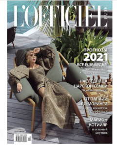 L'Officiel Version Russe